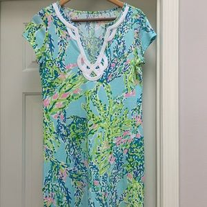 Lily Pulitzer T-shirt Dress-Reason:Too big
